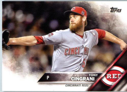 Photo of 2016 Topps #671 Tony Cingrani