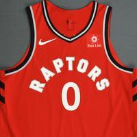 CJ Miles - Toronto Raptors - 2018-19 Season - Canada Series - Game-Worn Red Icon Edition Jersey