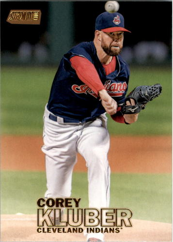 Photo of 2016 Stadium Club Gold #125 Corey Kluber