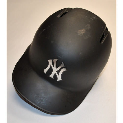 """Photo of Mike """"TAUCH"""" Tauchman New York Yankees Game-Used 2019 Players' Weekend Helmet"""