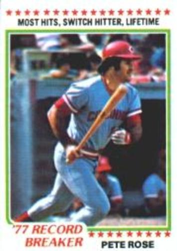 Photo of 1978 Topps #5 Pete Rose RB