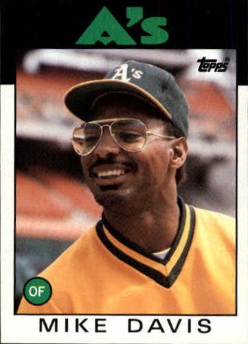 Photo of 1986 Topps #165 Mike Davis