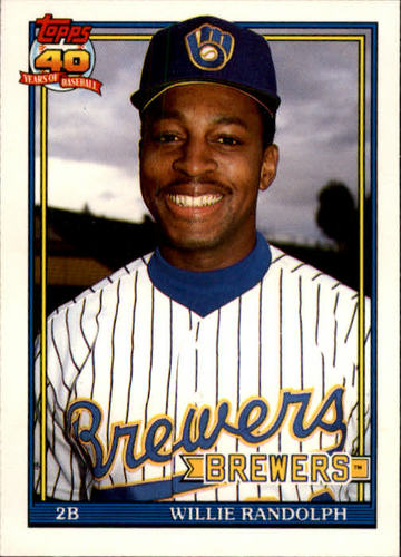 Photo of 1991 Topps Traded #95T Willie Randolph