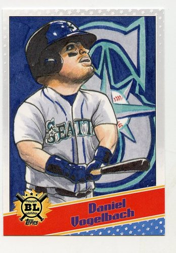 Photo of 2020 Topps Big League Star Caricature Reproductions #SCODV Daniel Vogelbach