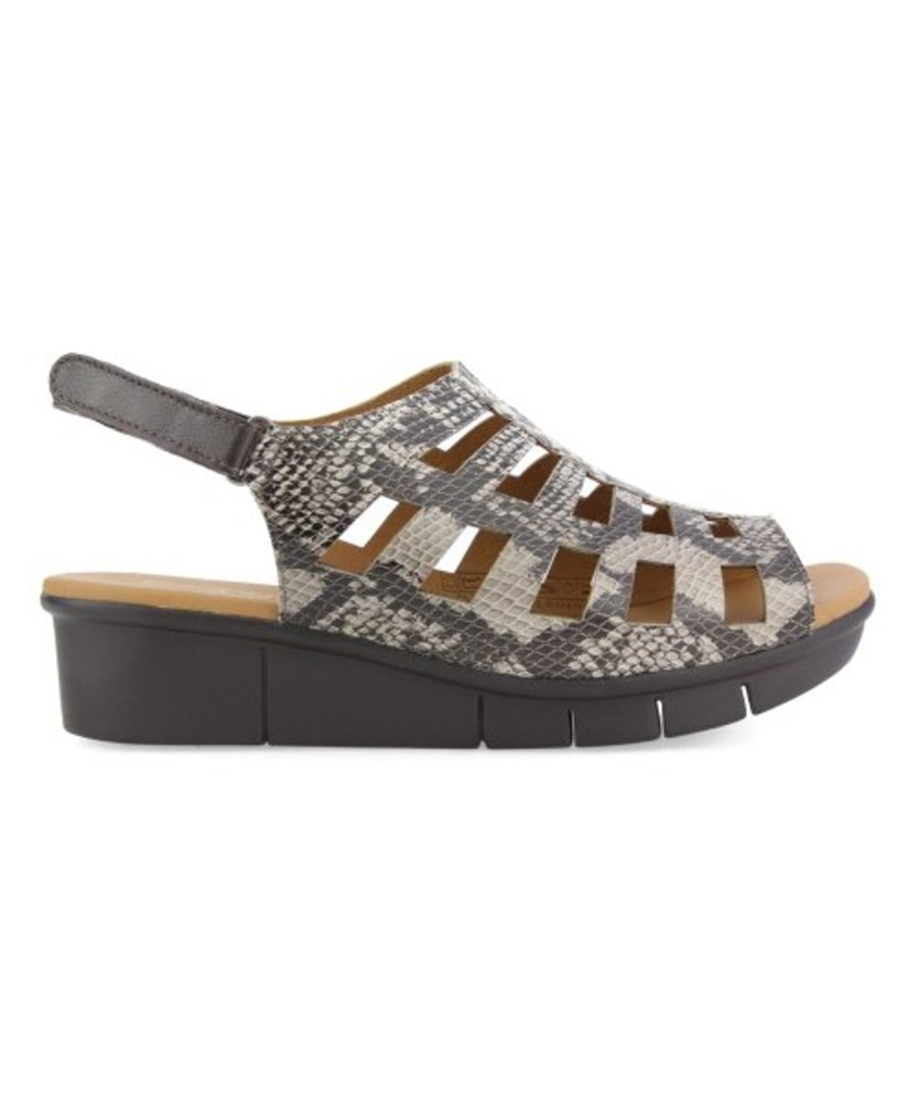 Photo of Unity in Diversity Embossed Leather Sandal