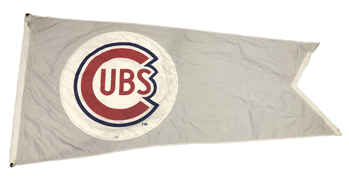 Photo of Wrigley Field Collection -- Rooftop Flag -- Cubs Logo