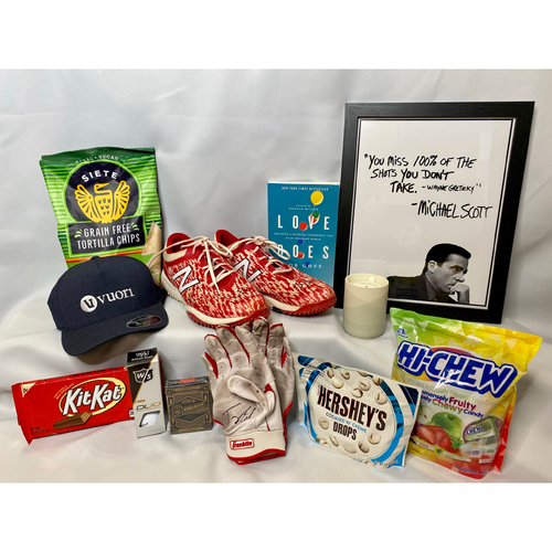 Photo of Tommy Edman's Favorite Things Basket