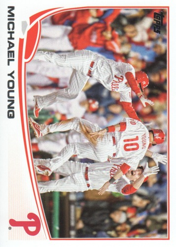 Photo of 2013 Topps Update #US90 Michael Young