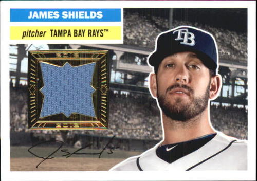 Photo of 2012 Topps Archives Relics #JS James Shields