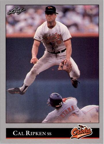 Photo of 1992 Leaf #52 Cal Ripken