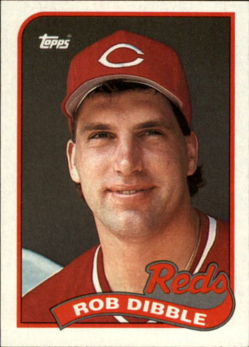 Photo of 1989 Topps #264 Rob Dibble RC