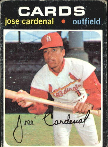 Photo of 1971 Topps #435 Jose Cardenal