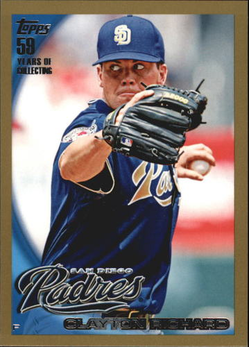 Photo of 2010 Topps Gold Border #456 Clayton Richard