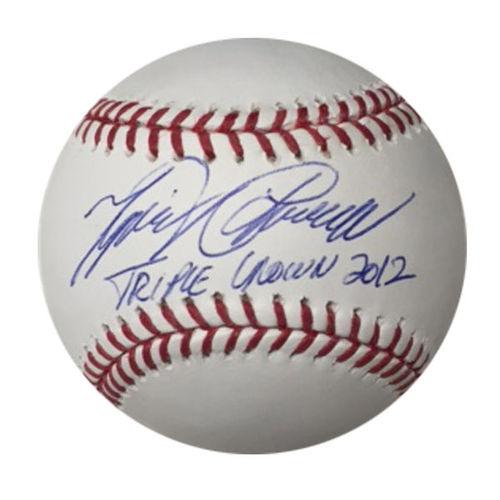 Photo of Miguel Cabrera Triple Crown Baseball