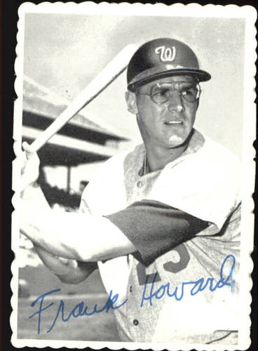 Photo of 1969 Topps Deckle Edge #16 Frank Howard