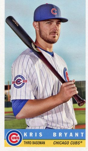 Photo of 2017 Topps Archives '59 Bazooka #59B15 Kris Bryant