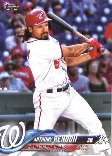 Photo of 2018 Topps #36 Anthony Rendon