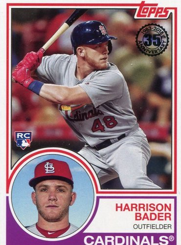 Photo of 2018 Topps '83 Topps #8329 Harrison Bader