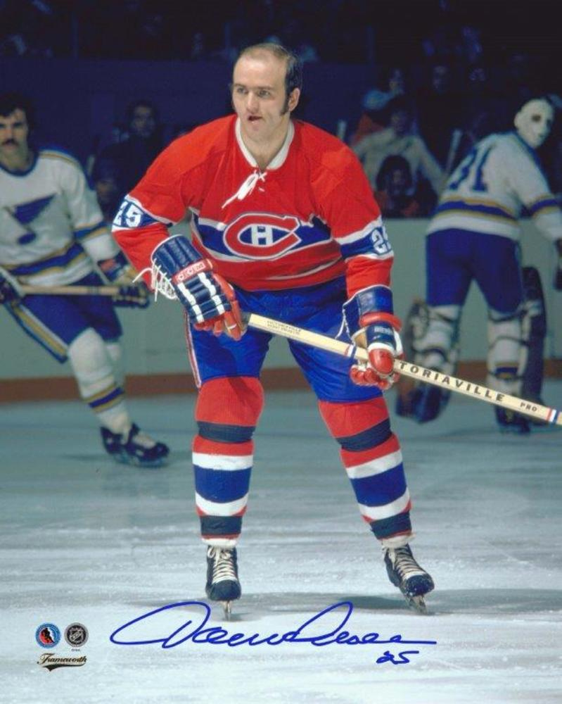 Jacques Lemaire Signed 8x10 Unframed Canadiens