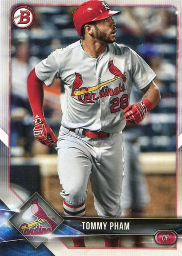 Photo of 2018 Bowman #87 Tommy Pham