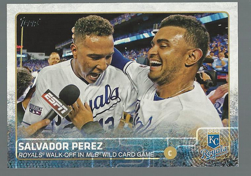 Photo of 2015 Topps #210 Salvador Perez BH