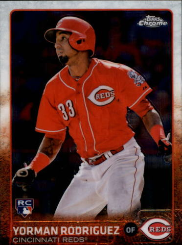 Photo of 2015 Topps Chrome #29 Yorman Rodriguez RC