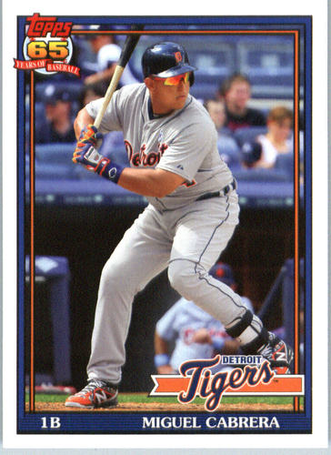 Photo of 2016 Topps Archives #204 Miguel Cabrera