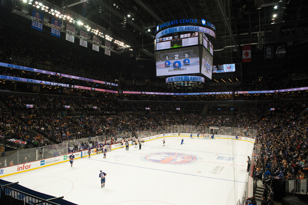 Clickable image to visit New York Islanders vs. Colorado Avalanche