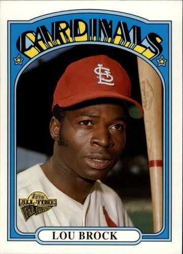 Photo of 2003 Topps All-Time Fan Favorites #130 Lou Brock