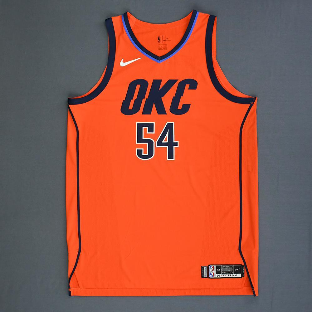 Patrick Patterson - Oklahoma City Thunder - Game-Worn Earned Statement Edition Jersey - 2018-19 Season