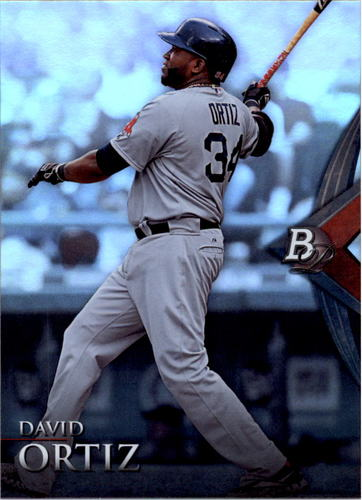 Photo of 2014 Bowman Platinum #71 David Ortiz