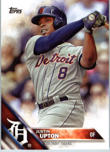 Photo of 2016 Topps #673A Justin Upton