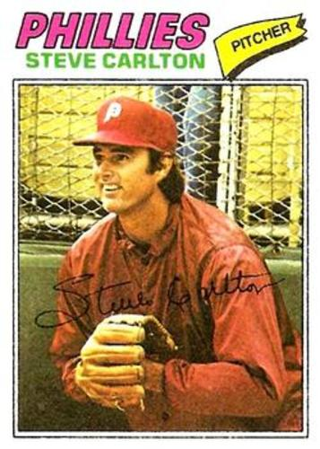 Photo of 1977 Topps #110 Steve Carlton