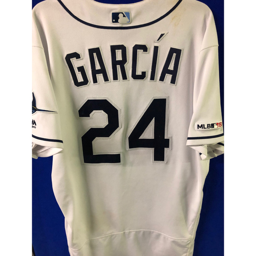 Photo of Game Used INSIDE THE PARK HOME RUN Home Jersey: Avisail Garcia - May 28, 2019 v TOR