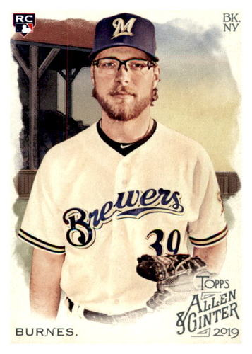 Photo of 2019 Topps Allen and Ginter #206 Corbin Burnes RC