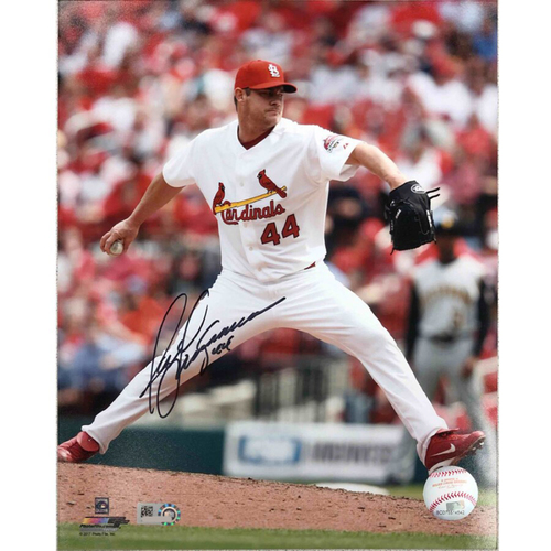 Photo of Cardinals Authentics: St. Louis Cardinals Jason Isringhausen Autographed Photo