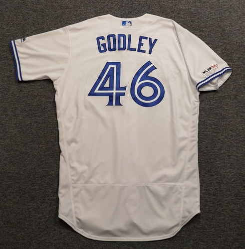 Photo of Authenticated Team Issued 2019 Jersey - #46 Zack Godley. Size 48.