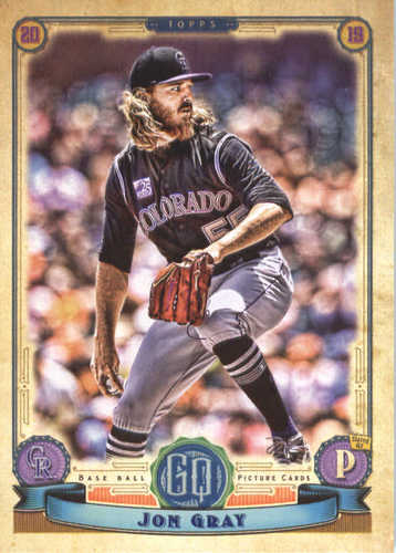 Photo of 2019 Topps Gypsy Queen #240 Jon Gray