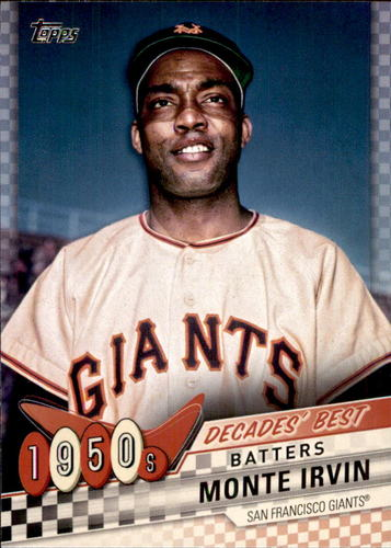 Photo of 2020 Topps Decades' Best #DB18 Monte Irvin