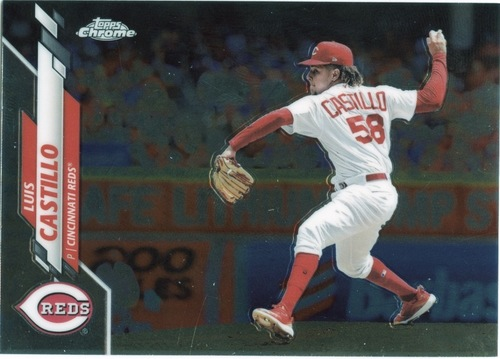 Photo of 2020 Topps Chrome #16 Luis Castillo