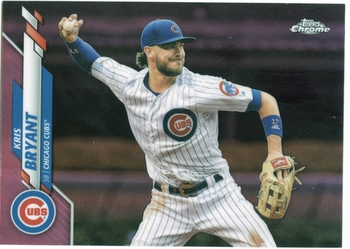 Photo of 2020 Topps Chrome Pink Refractors #53 Kris Bryant