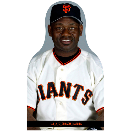 Photo of Giants Community Fund: Giants Marquis Grissom Cutout