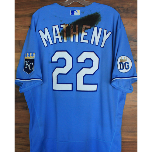 Photo of Alex's Lemonade Stand Foundation: Game-Used Mike Matheny Jersey (Size 48 - 9/26/20 DET @ KC)