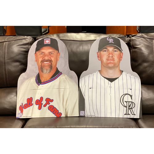 Photo of Colorado Rockies Foundation: NL Award Winner Set: 1997 NL MVP Larry Walker and 2002 NL ROY Jason Jennings