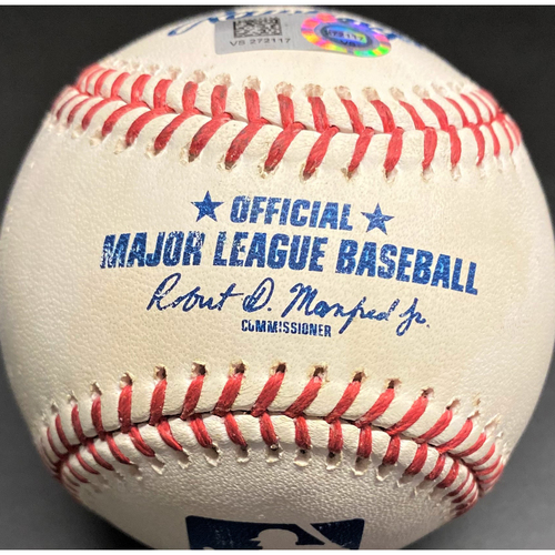 Photo of Game-Used Baseball: Kenta Maeda Minnesota Twins Strikeout (MLB AUTHENTICATED)