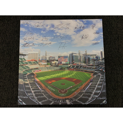 Photo of 2021 Team Signed and MLB Authenticated Canvas