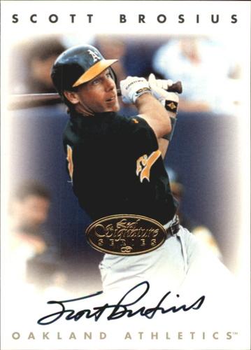 Photo of 1996 Leaf Signature Autographs Gold #36 Scott Brosius