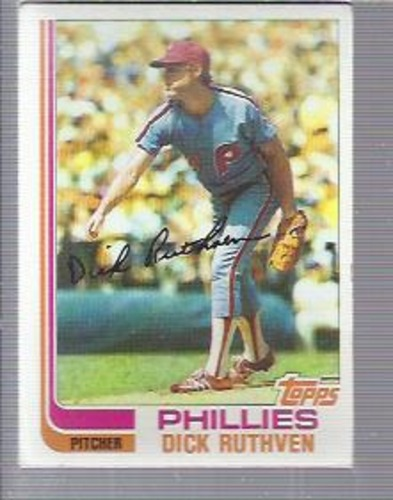 Photo of 1982 Topps #317 Dick Ruthven