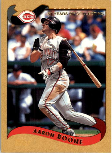 Photo of 2002 Topps Gold #92 Aaron Boone