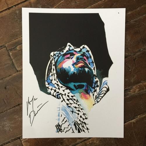 Ariya Daivari SIGNED 11 x 14 Rob Schamberger Print